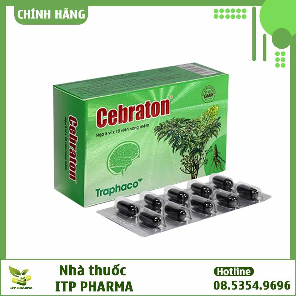 Hoạt huyết dưỡng não Cebraton
