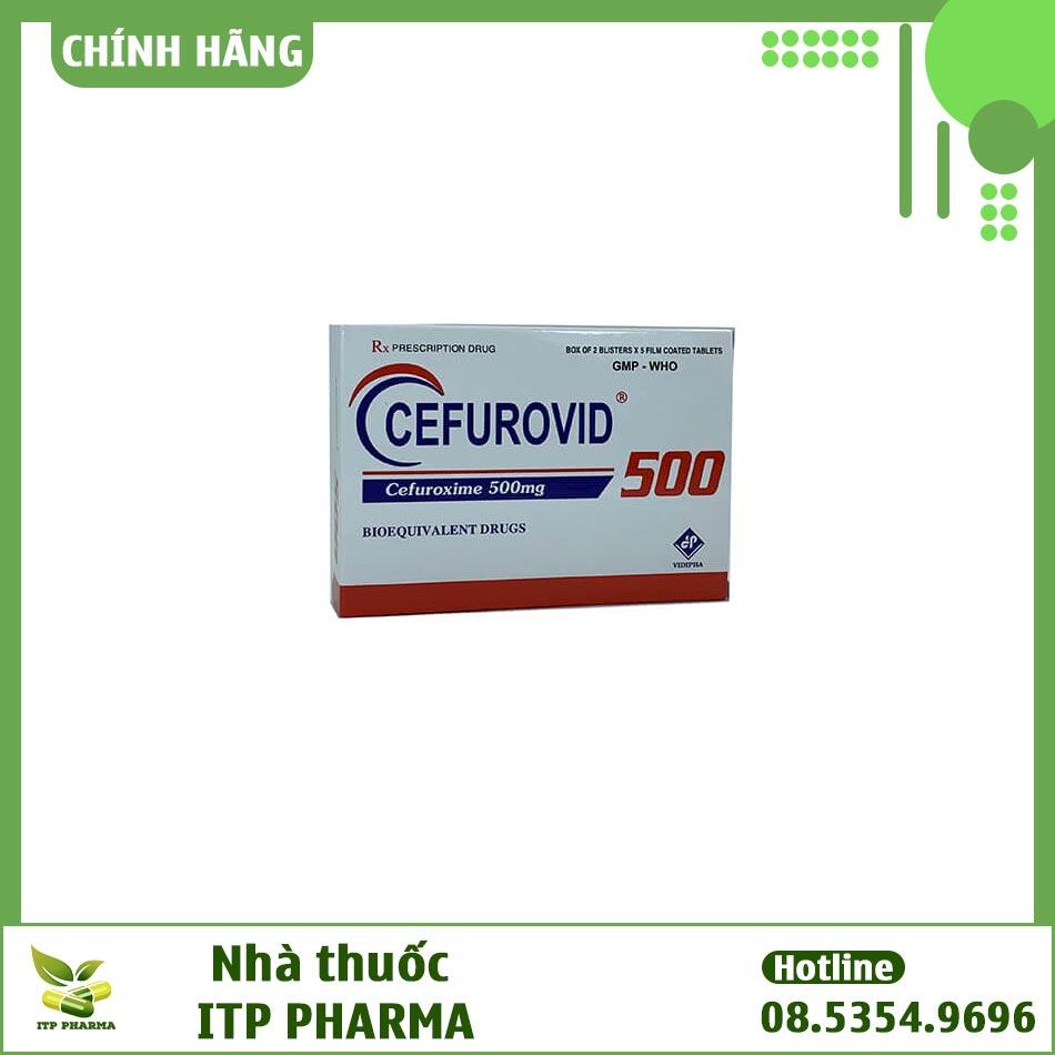Hình ảnh hộp thuốc Cefurovid