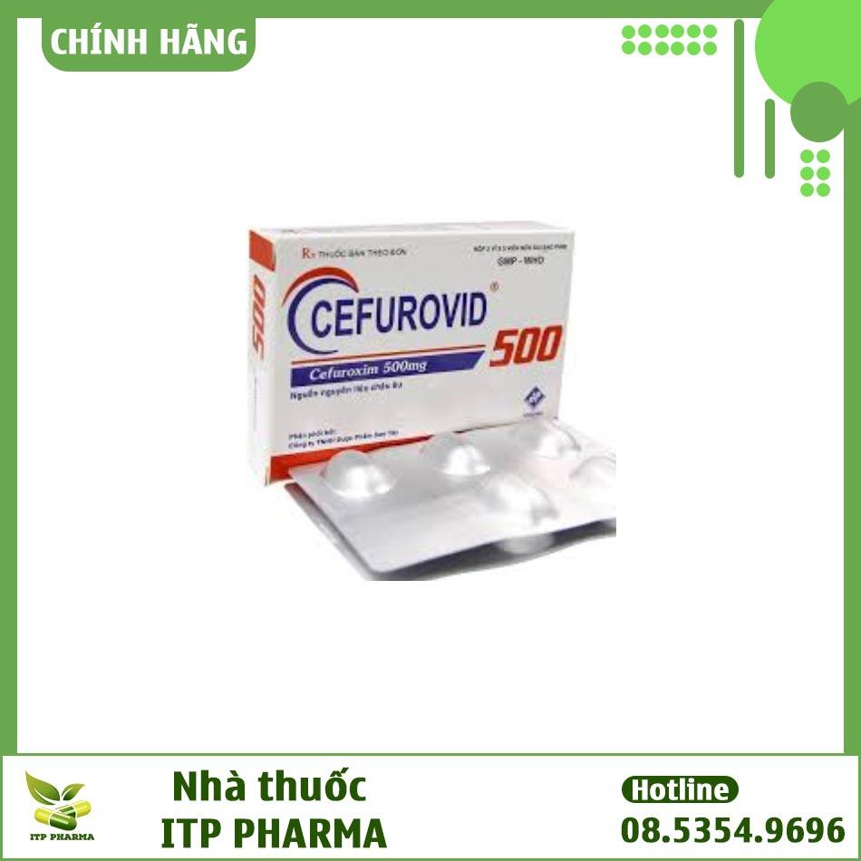 Thuốc Cefurovid 500mg - Điều trị nhiễm khuẩn từ mức độ nhẹ đến vừa hiệu quả
