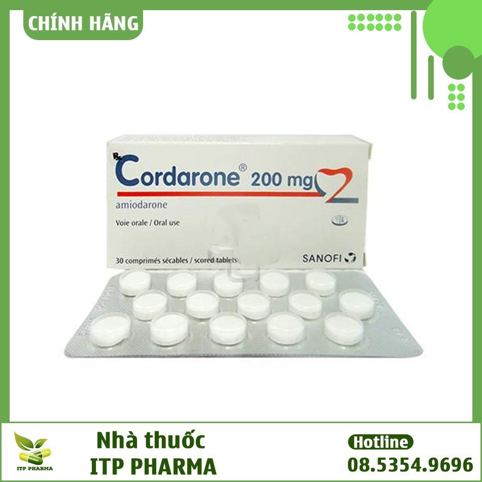 Thuốc Cordarone có công dụng gì?