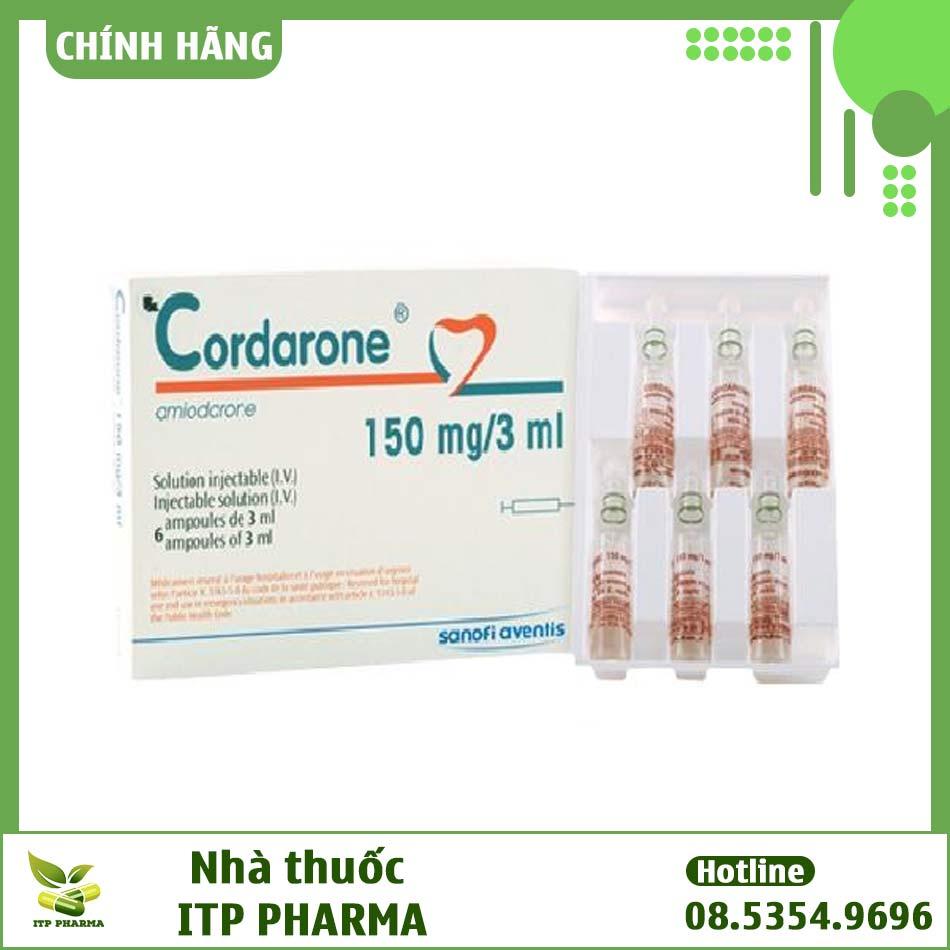 Thuốc Cordarone - dạng tiêm truyền tĩnh mạch