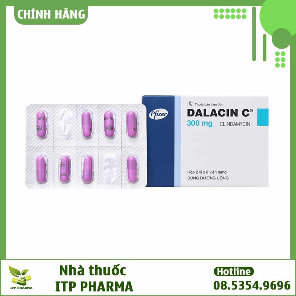 Hình ảnh thuốc Dalacin C 300mg