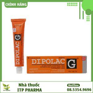Hình ảnh hộp và lọ Dipolac G