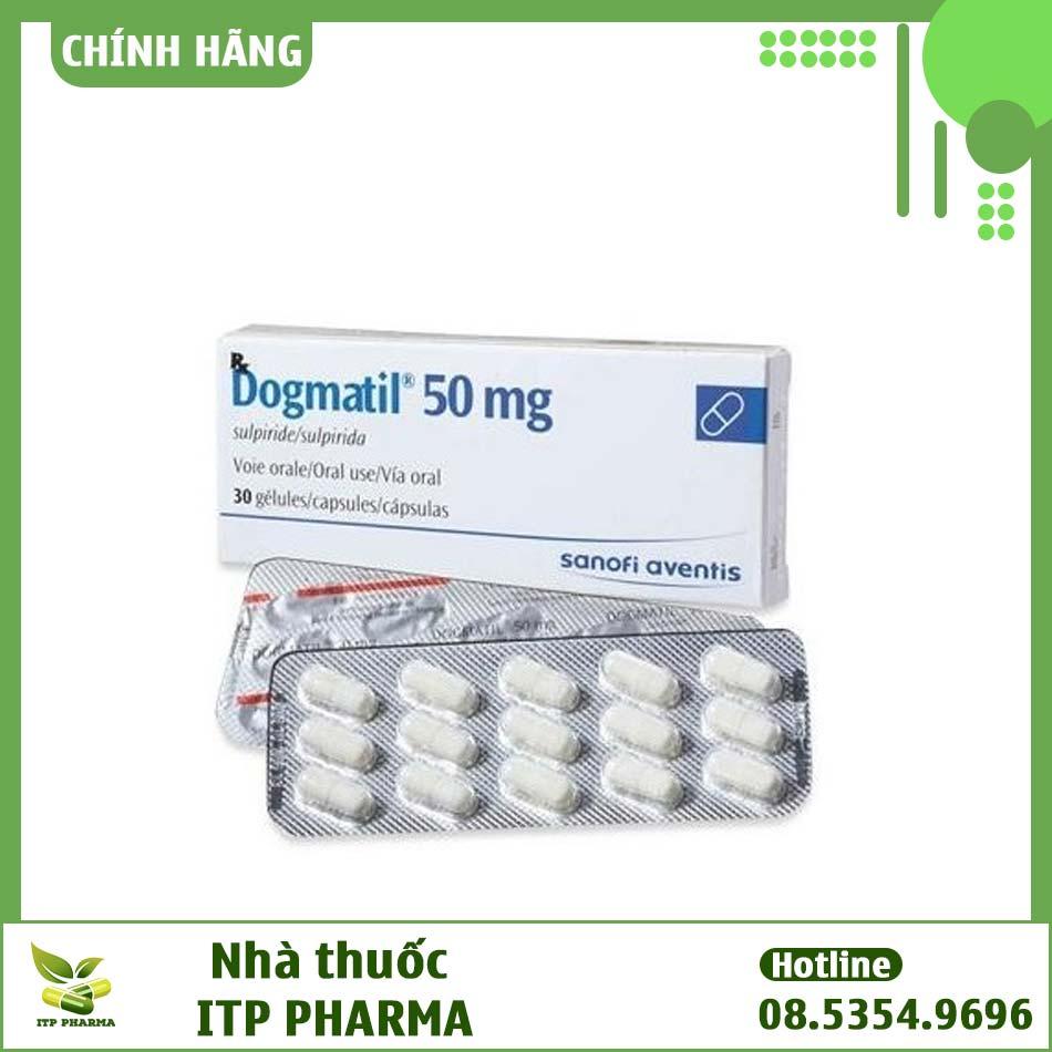 Thuốc Dogmatil 50mg có giá bao nhiêu?