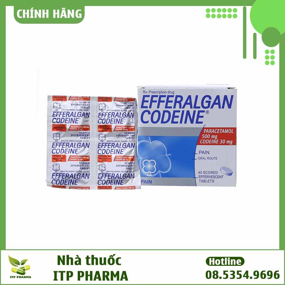 Thuốc Efferalgan Codein có giá bao nhiêu?