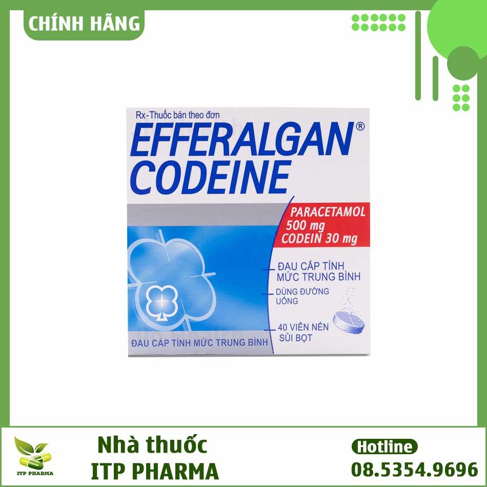 Hình ảnh hộp thuốc Efferalgan Codein