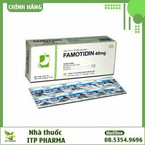 Hình ảnh thuốc Famotidin 40mg