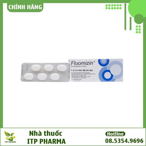 Thuốc Fluomizin 10mg - Điều trị các bệnh phụ khoa liên quan tới viêm âm đạo