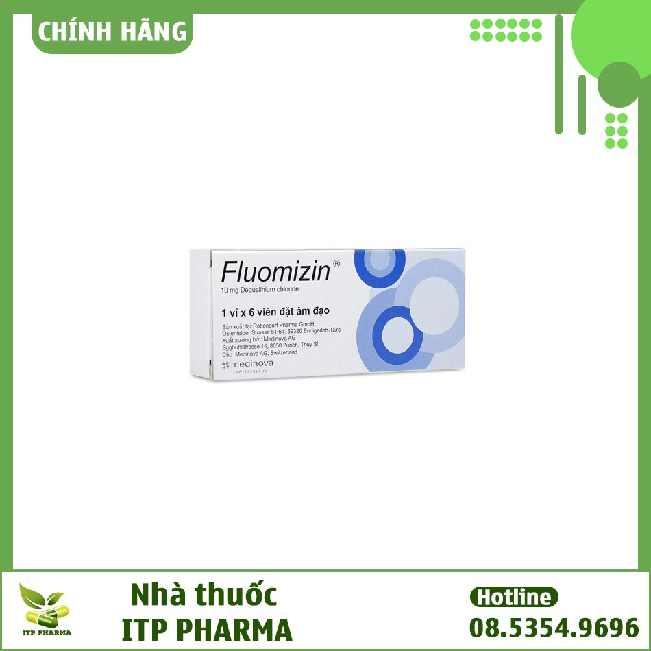 Tác dụng phụ khi sử dụng thuốc Fluomizin 10mg