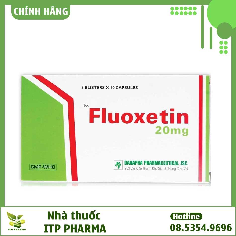 Hình ảnh thuốc Fluoxetin