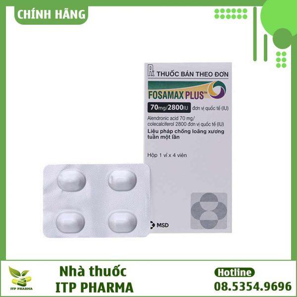 Hình ảnh thuốc Fosamax Plus