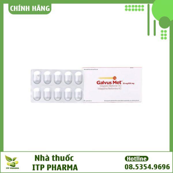 Hình ảnh sản phẩm thuốc Galvus Met 50mg/850mg