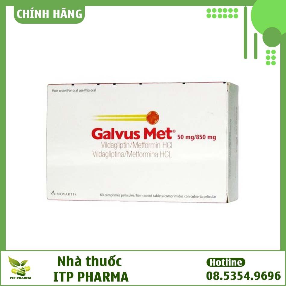 Hình ảnh hộp thuốc Galvus Met