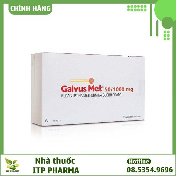 Thuốc Galvus Met 500mg/1000mg có công dụng gì?