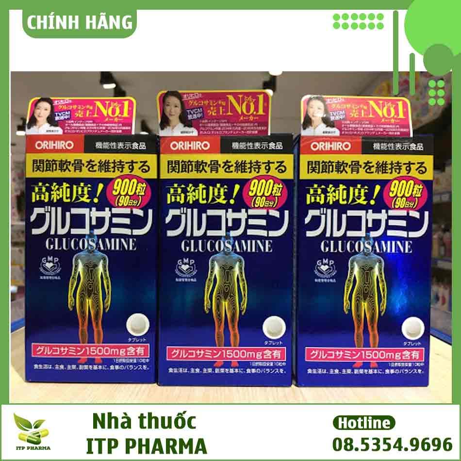 Cách dùng viên uống Glucosamine Nhật 900 viên