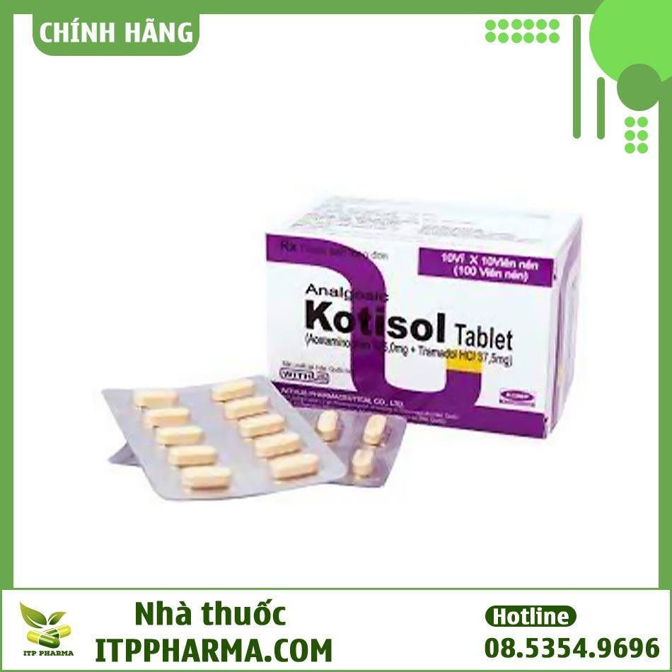 Vỉ thuốc Kotisol giảm đau