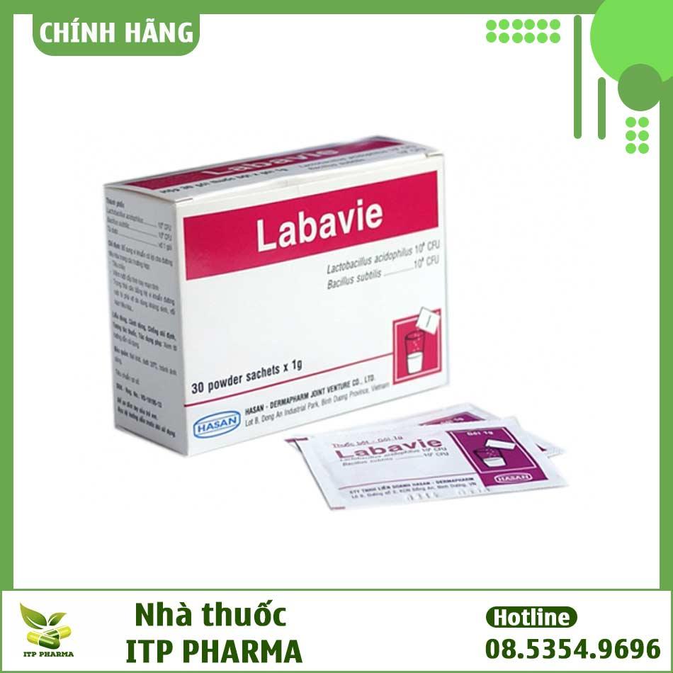 Labavie có thành phần gì?