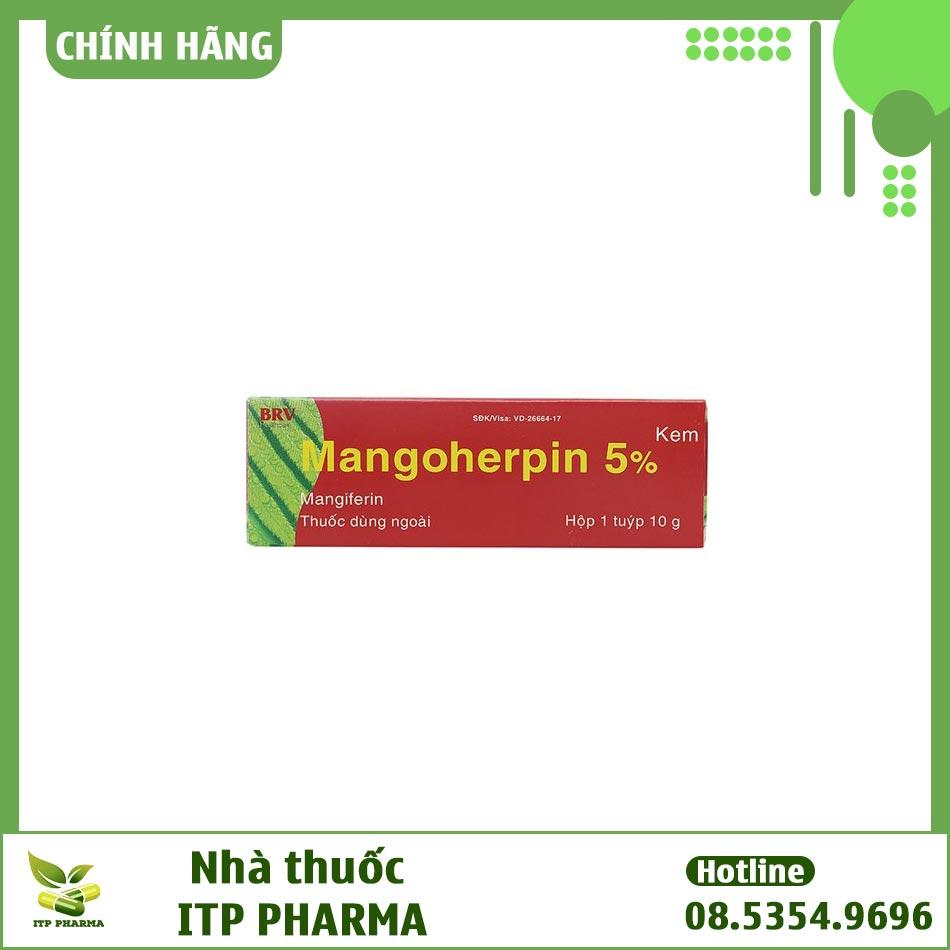 Hình ảnh hộp kem bôi Mangoherpin