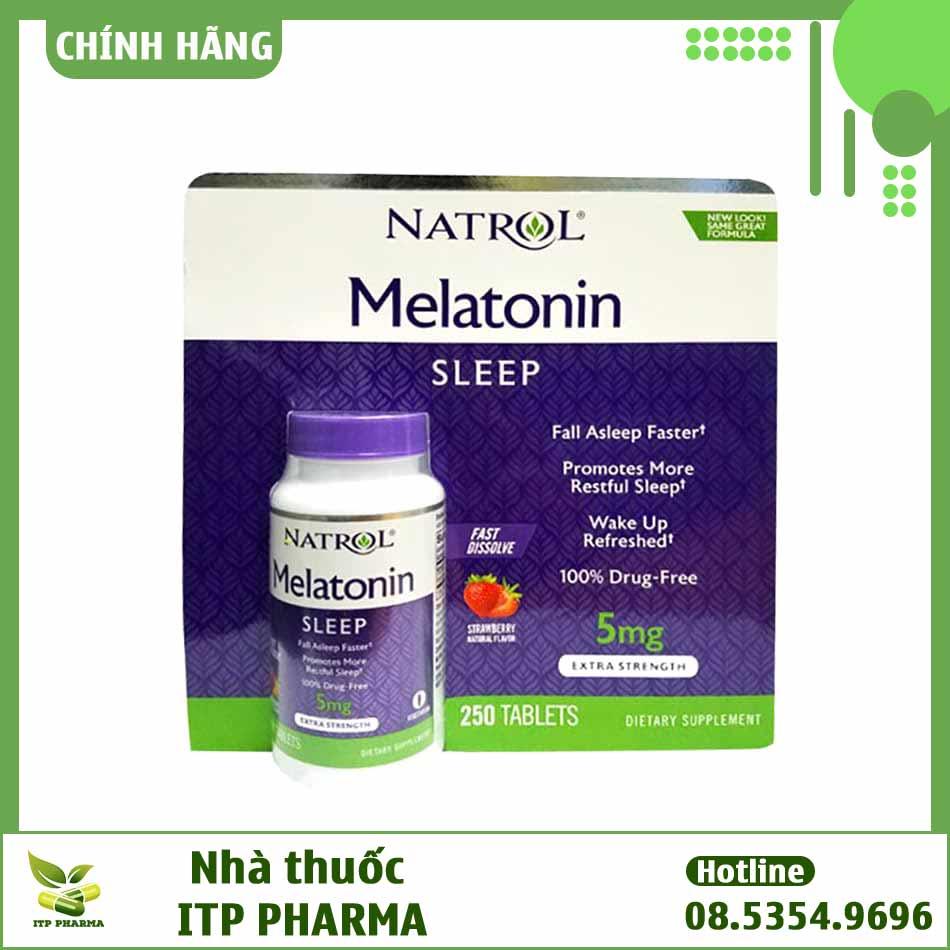 Viên uống Melatonin