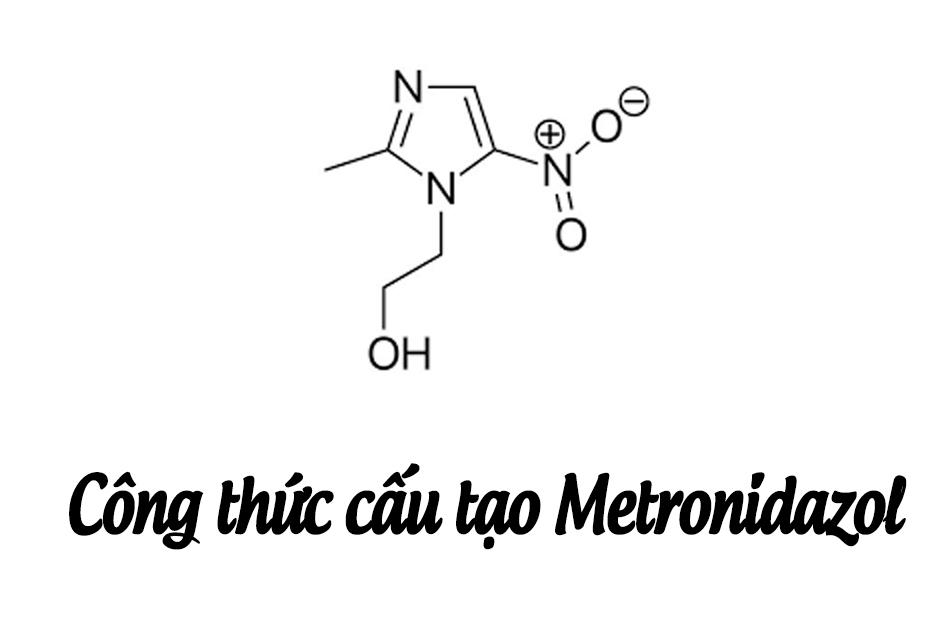 Cấu trúc hóa học Metronidazol