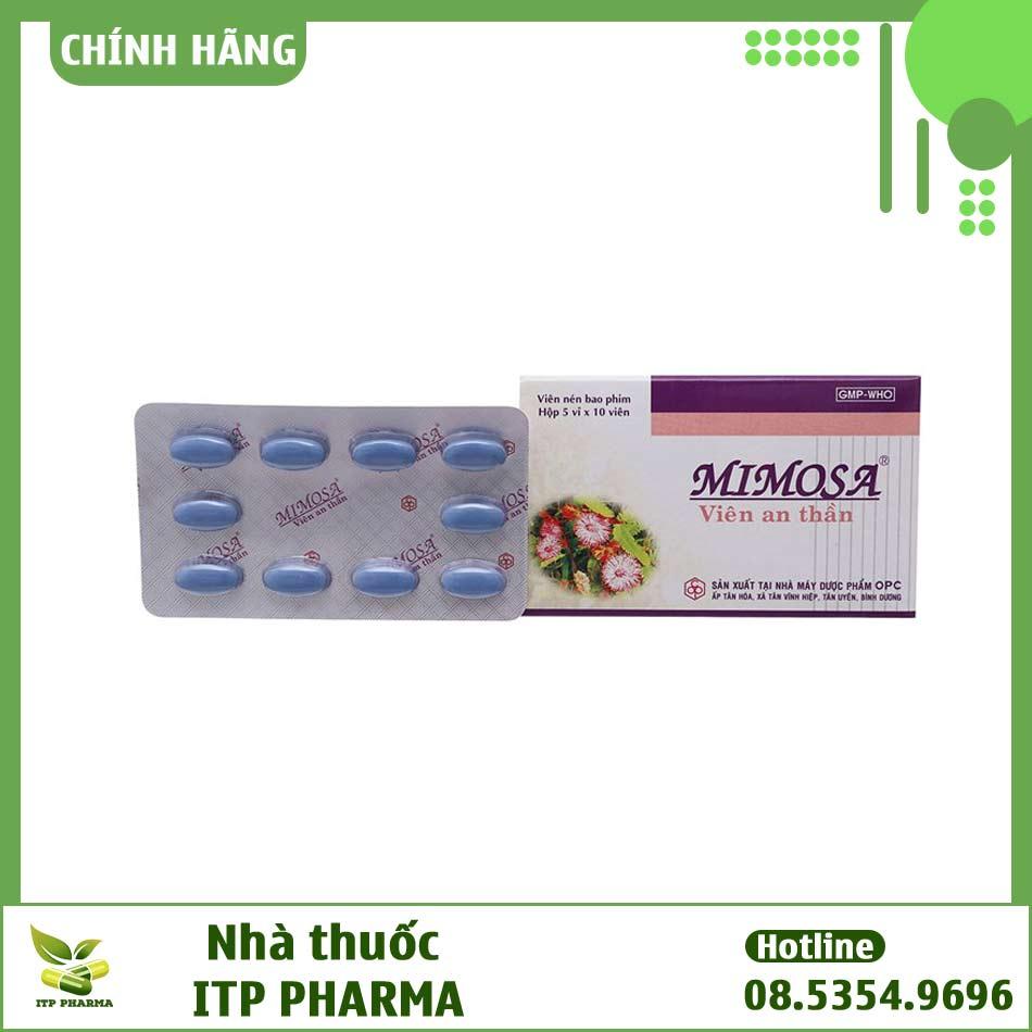 Tác dụng phụ của thuốc MIMOSA