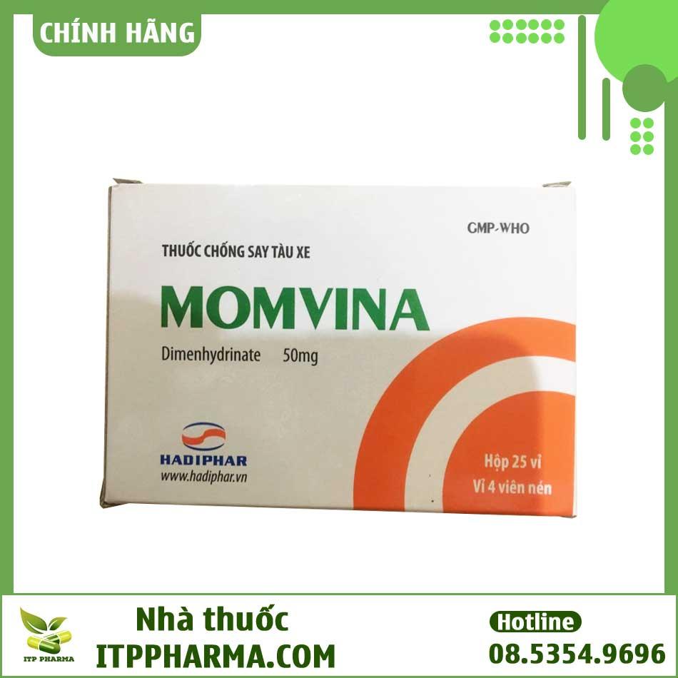 Cách sử dụng thuốc chống say tàu xe Momvina