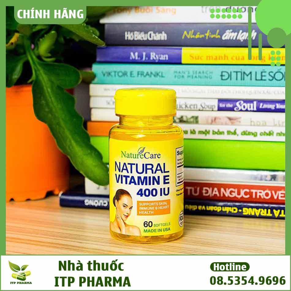 Phân biệt Natural Vitamin E NatureCare thật - giả