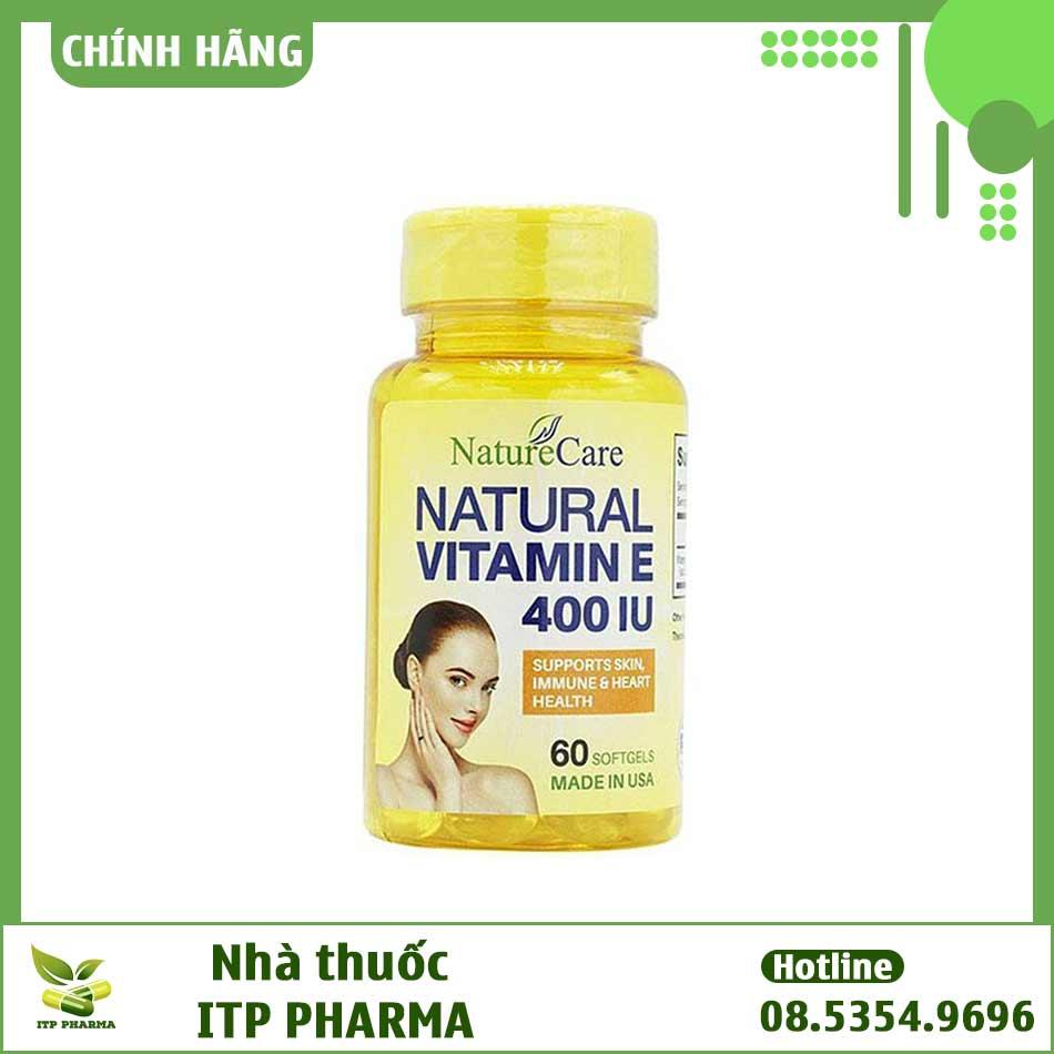 Hình ảnh Natural Vitamin E NatureCare