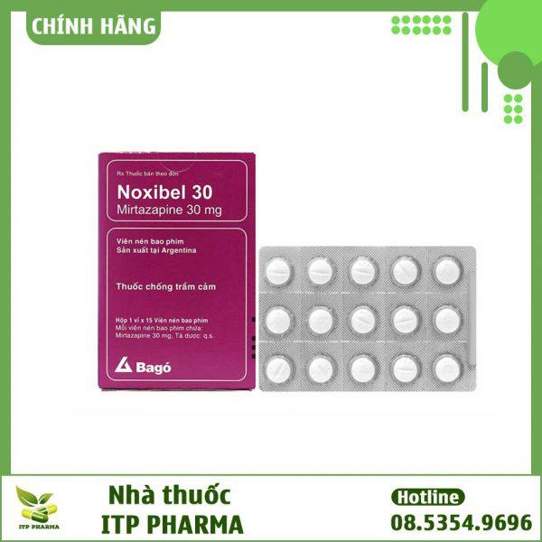 Noxibel 30mg - Thuốc chống trầm cảm ở người lớn