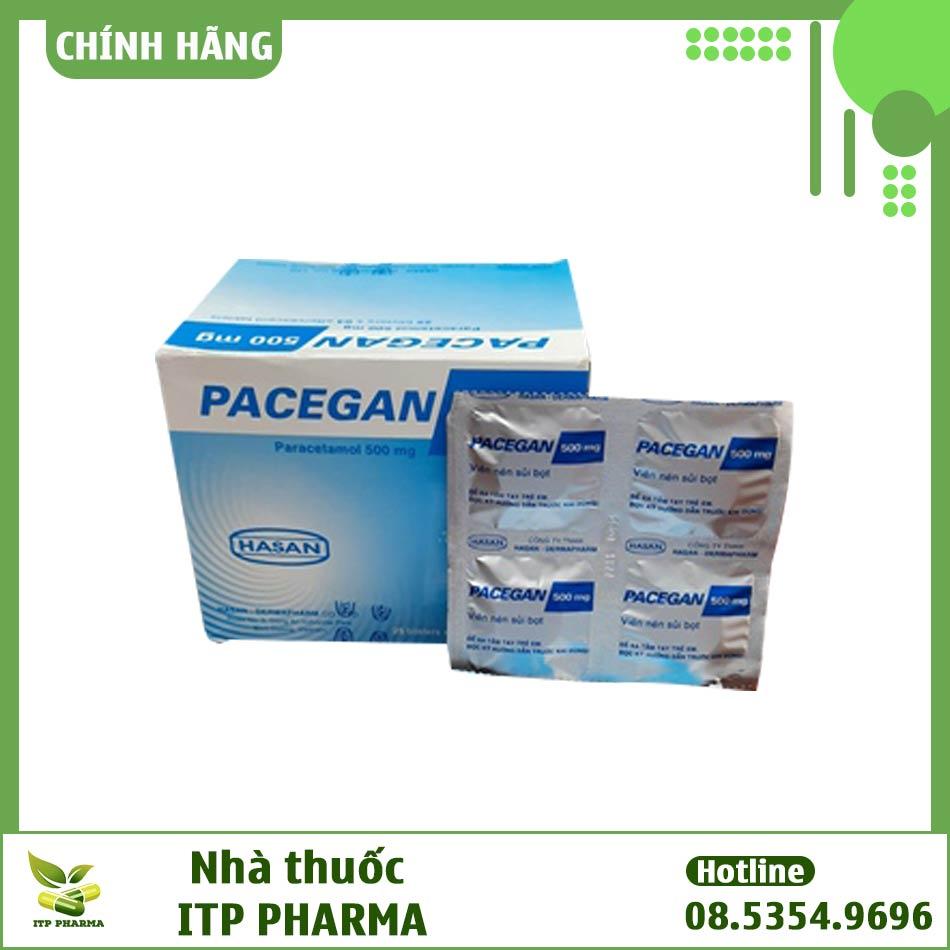 Hình ảnh vỉ thuốc Pacegan