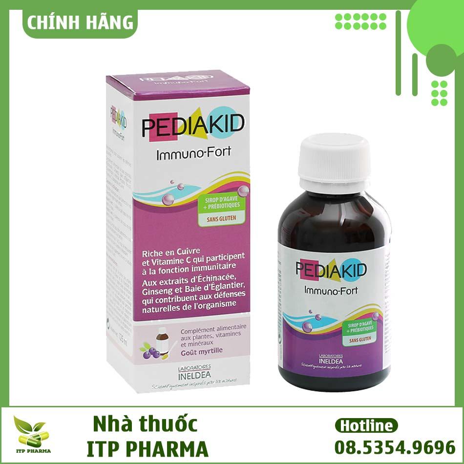 Siro hỗ trợ tiêu hóa Pediakid