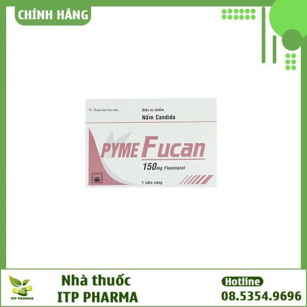 Hình ảnh hộp thuốc Pyme Fucan 150mg