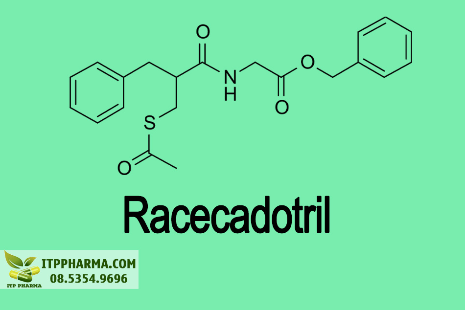Cấu trúc hóa học của Racecadotril