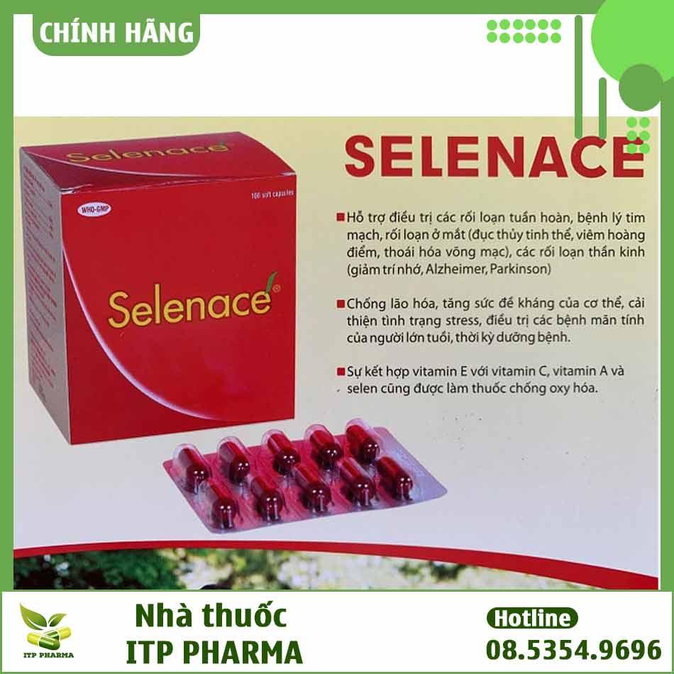 Thuốc Selenace có công dụng gì?