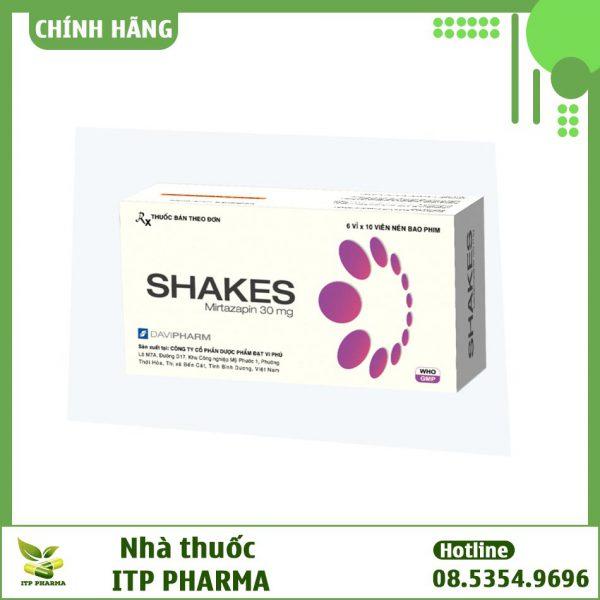 Hình ảnh hộp thuốc Shakes 30mg