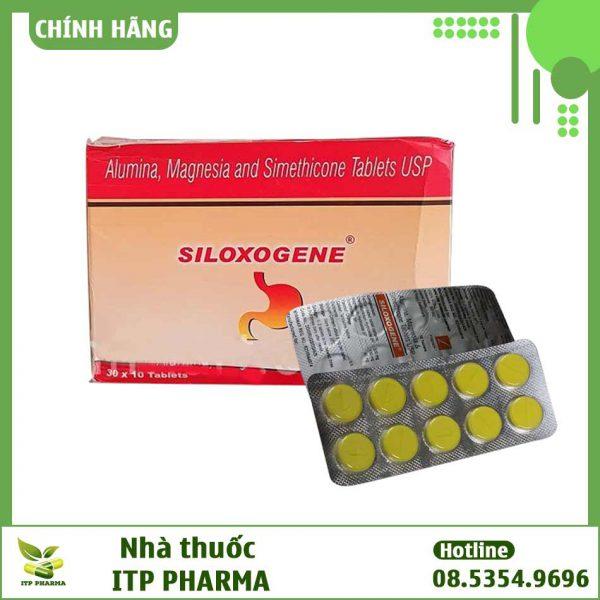 Hình ảnh hộp và vỉ thuốc Siloxogene