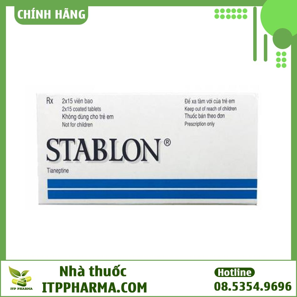 Hộp thuốc Stablon chống trầm cảm
