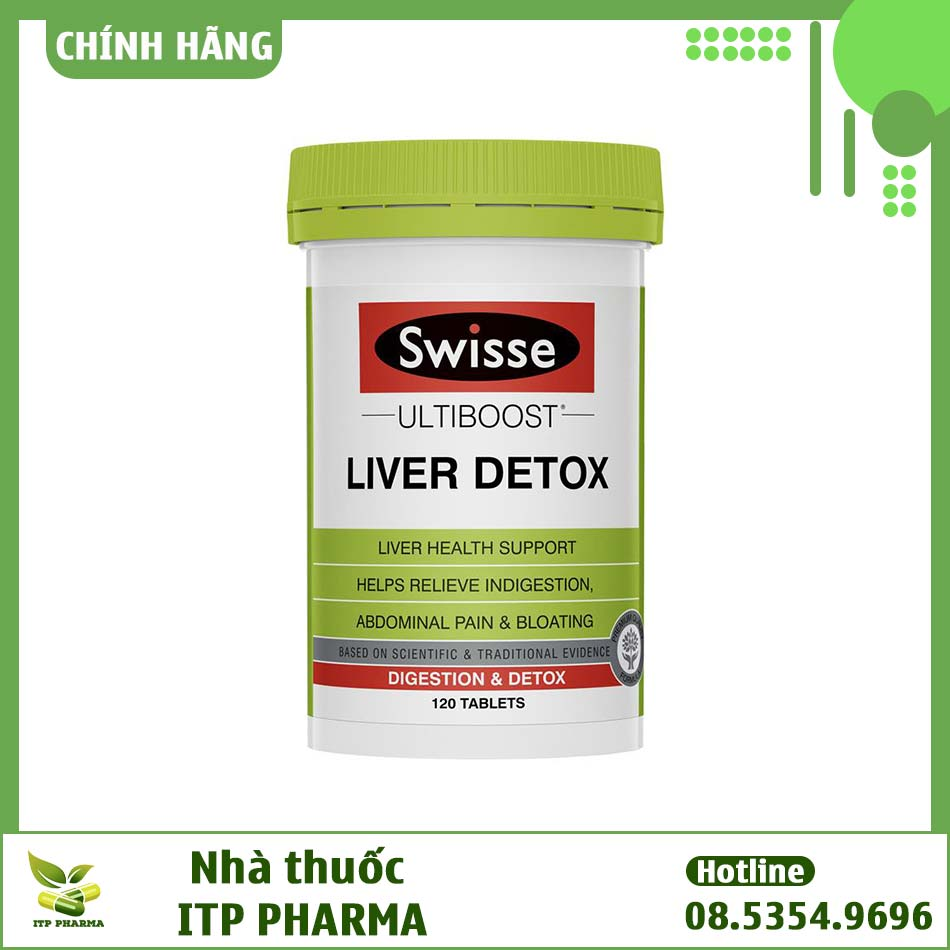 Viên uống bổ gan Swisse Liver Detox