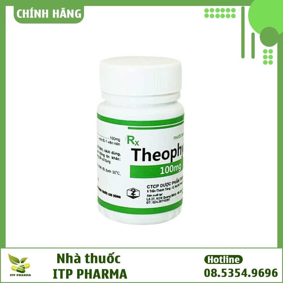 Hình ảnh lọ thuốc Theophylin 200 viên