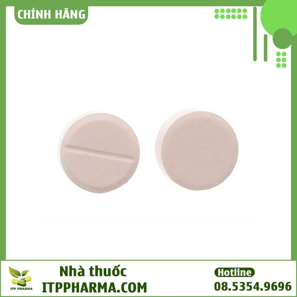 Viên thuốc lợi tiểu Thiazifar có chứa Hydroclorothiazide
