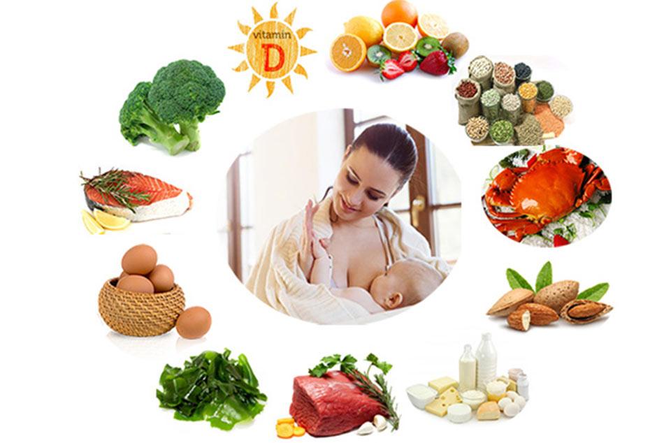 Dinh dưỡng cần thiết cho mỗi bữa ăn của mẹ