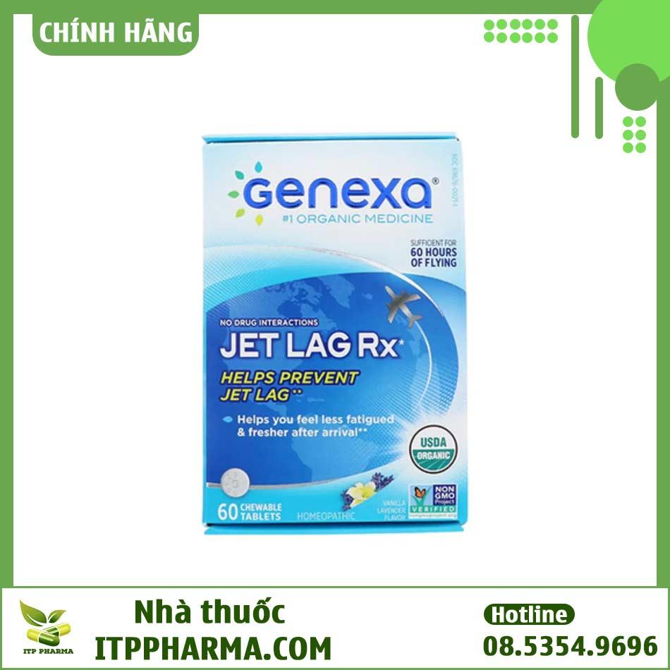 Thuốc chống say tàu xe hữu cơ Genexa là sản phẩm chống say xe, chống nôn được ưa chuộng tại Mỹ hiện nay