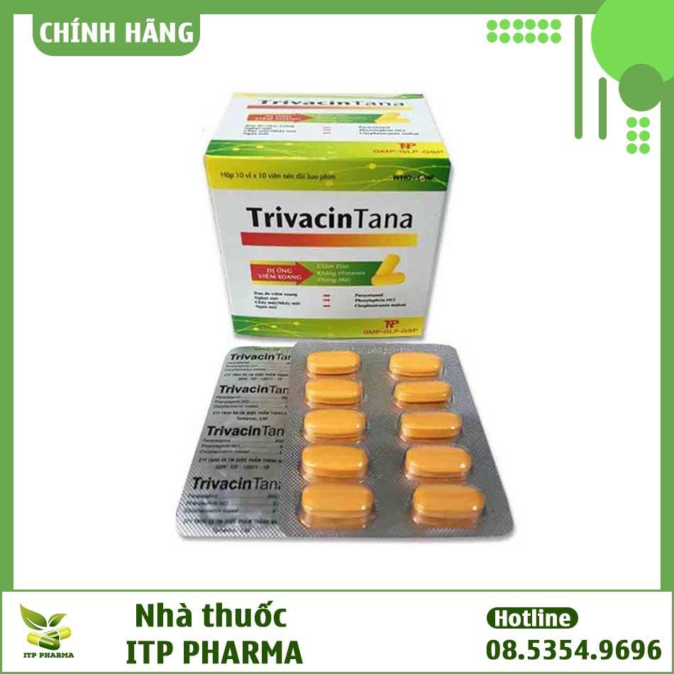 Thuốc TrivacinTana - Dược phẩm Thành Nam