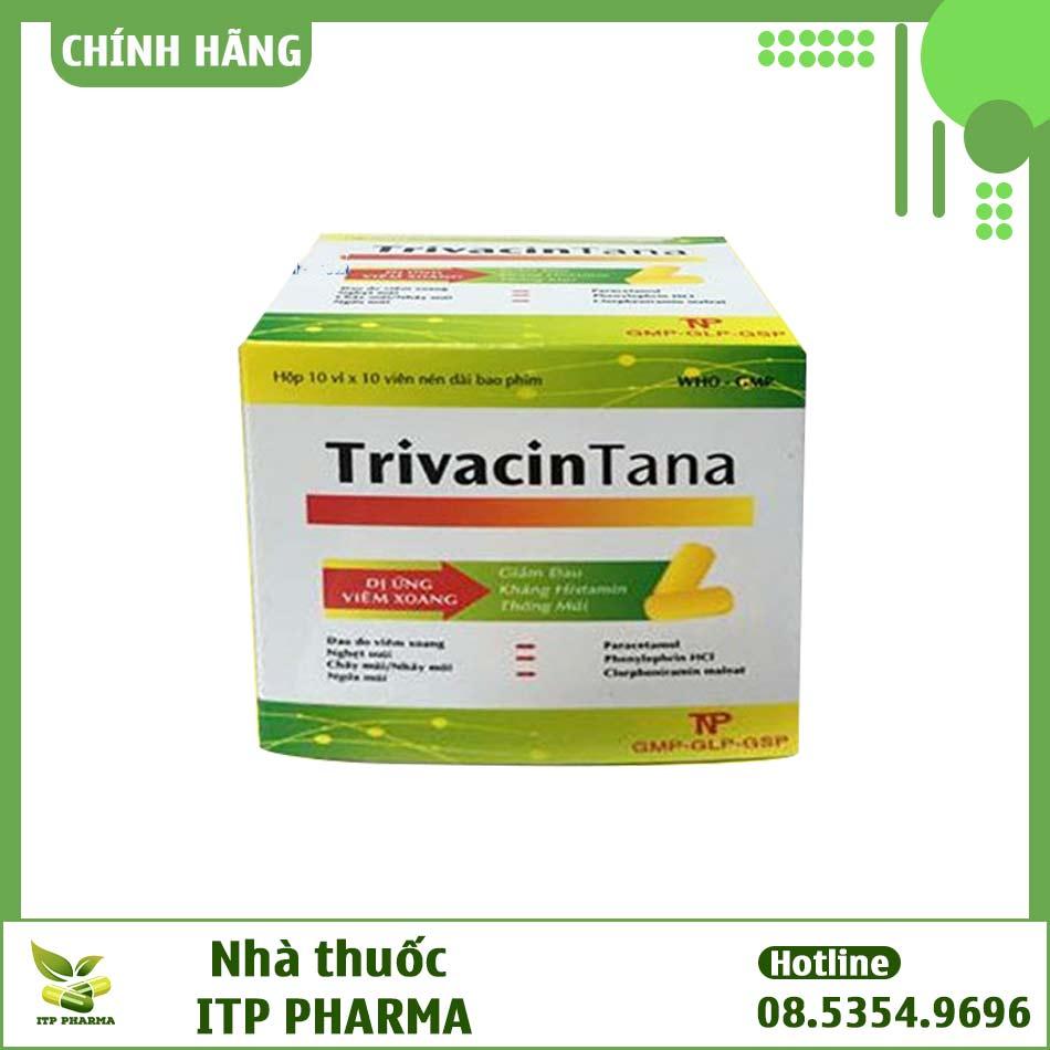 Hình ảnh hộp thuốc TrivacinTana