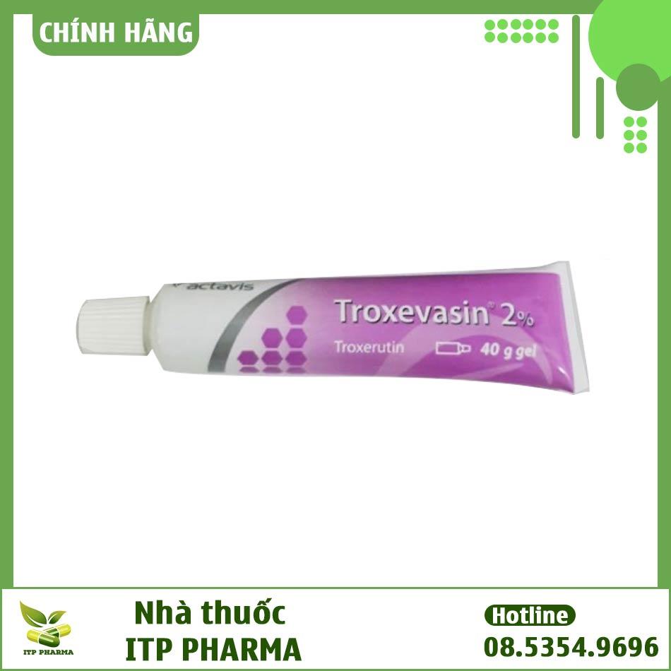 Hình ảnh tuýp gel Troxevasin 2%