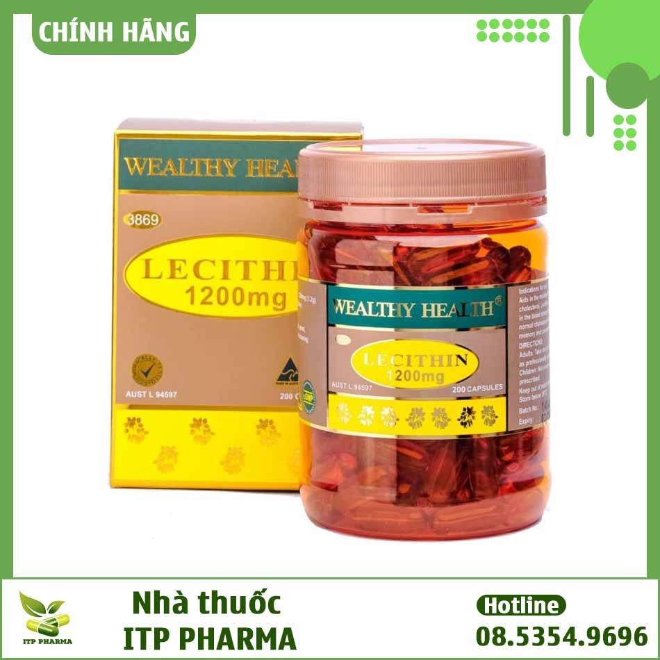Hình ảnh sản phẩm Wealthy Health Lecithin 1200mg