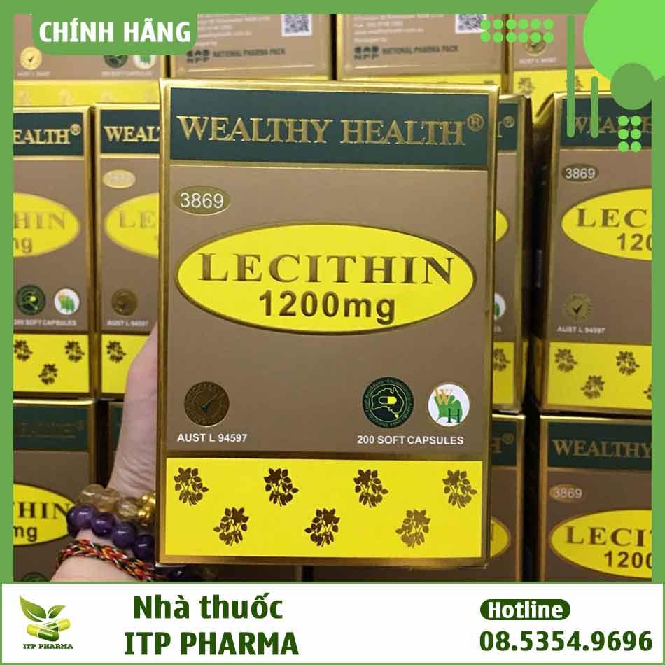 Thành phần của Wealthy Health Lecithin