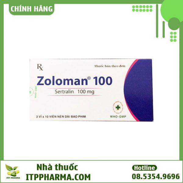 Thuốc Zoloman 100mg là thuốc gì?