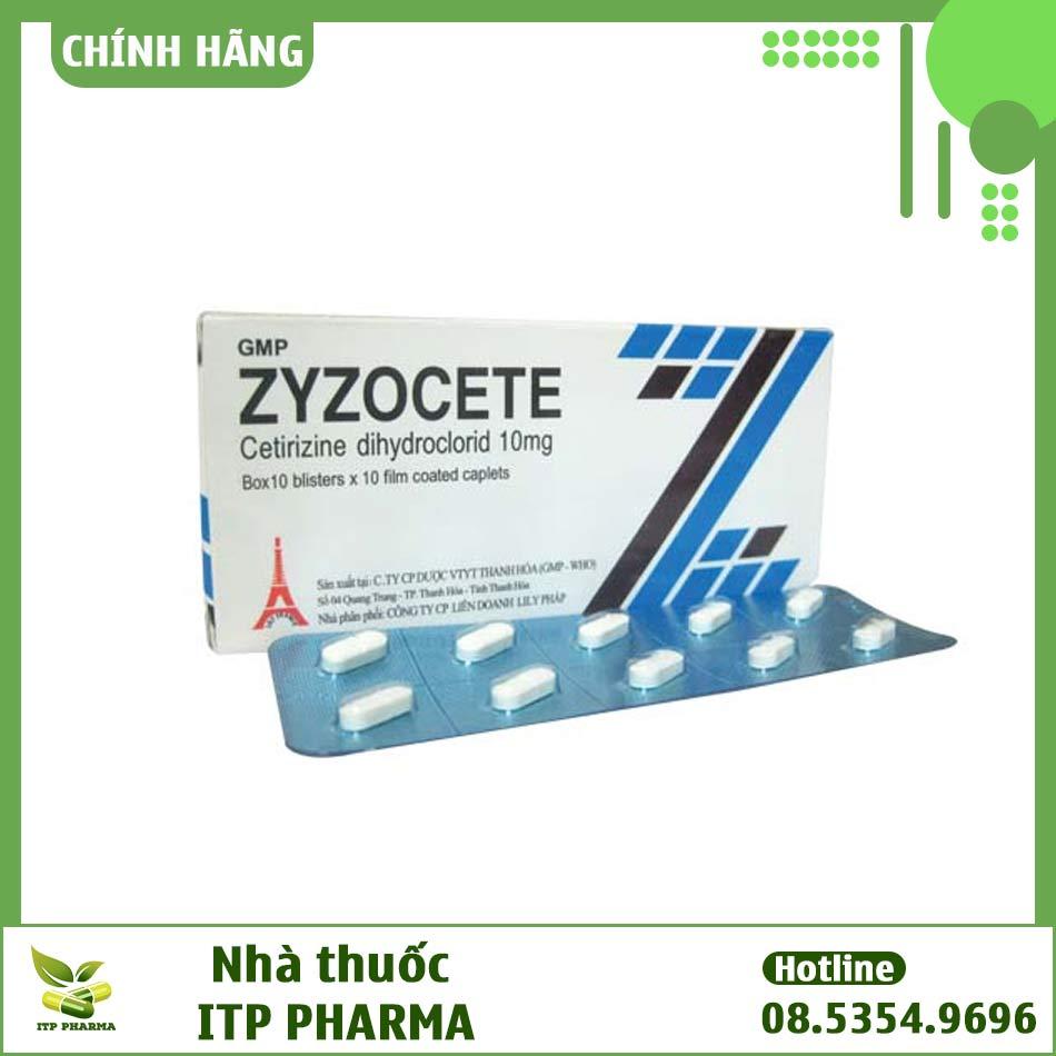 Thuốc Zyzocete - Điều trị dị ứng theo mùa