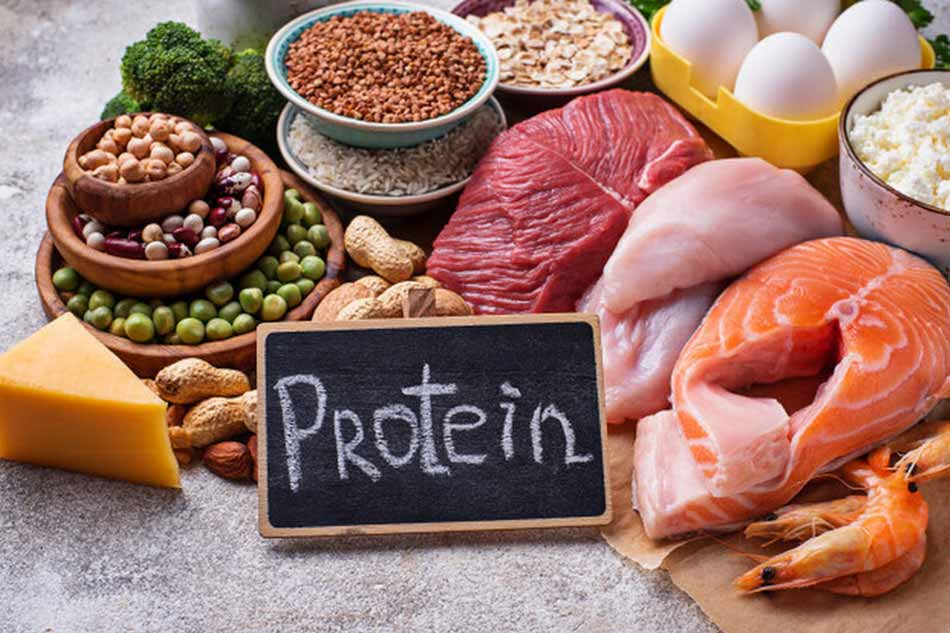 Ăn thịt, cá và các thực phẩm giàu protein giúp con bụ bẫm
